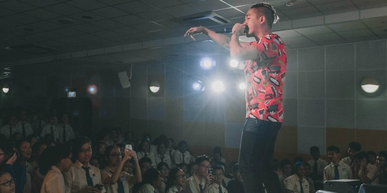 *SCAPE Invasion Tour: Haze Outside, Party Inside at Fairfield Methodist School