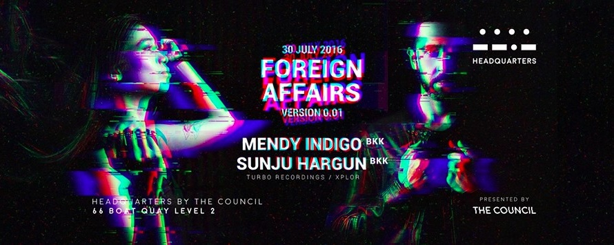Foreign Affairs with Mendy Indigo & Sunju Hargun