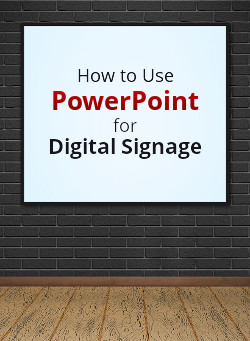 How to use PowerPoint for Digital Signage Online Course