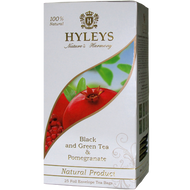 Black and Green Tea with Pomegranate from HYLEYS