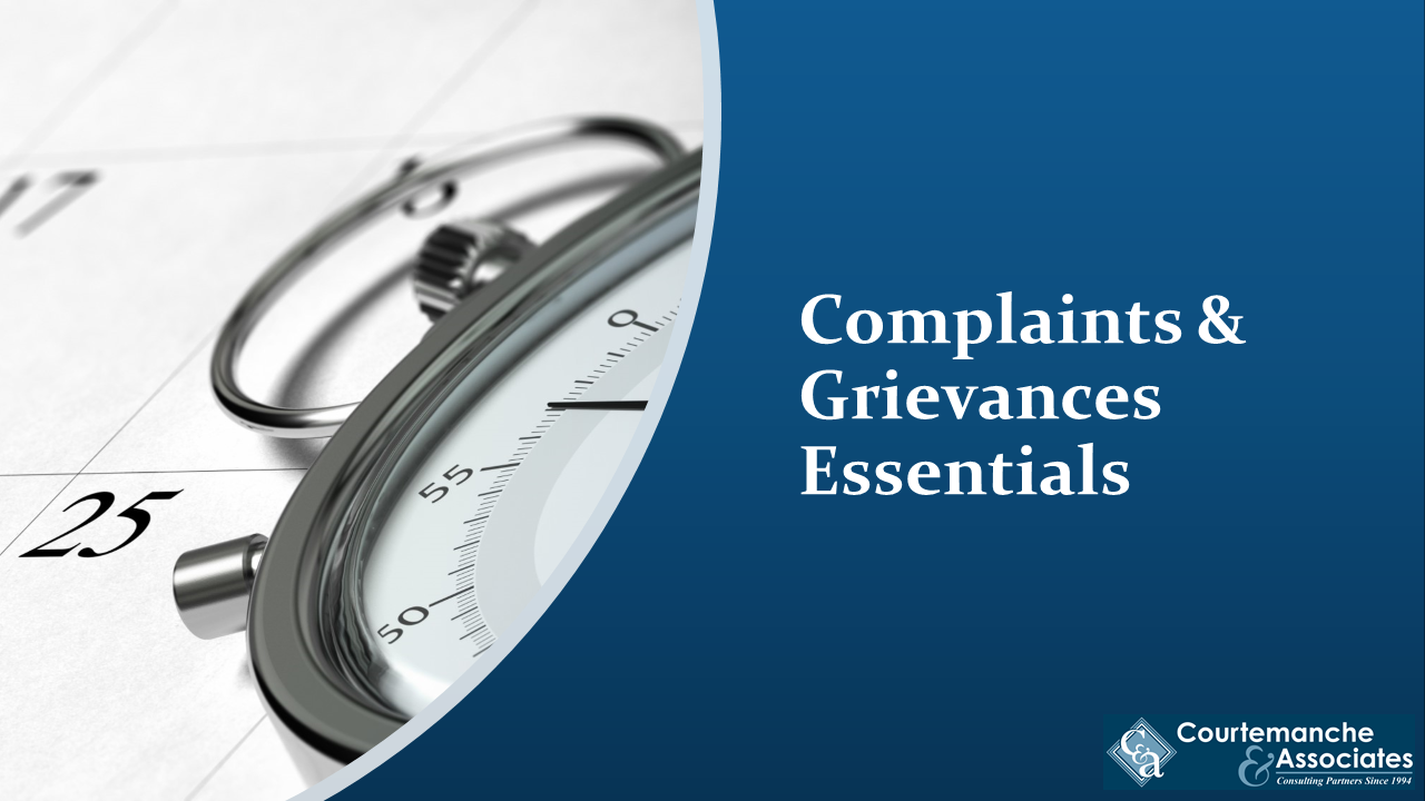 Learn the difference between complaints and grievances