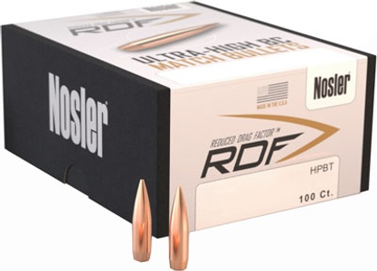 Nosler RDF Match Hollow Point Boat Tail 53066 | Williams Outfit