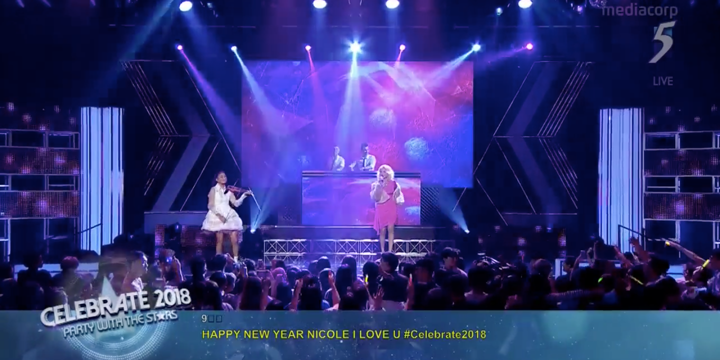 Watch performances from the Channel 5 2018 countdown, featuring The Sam Willows, Aisyah Aziz and more