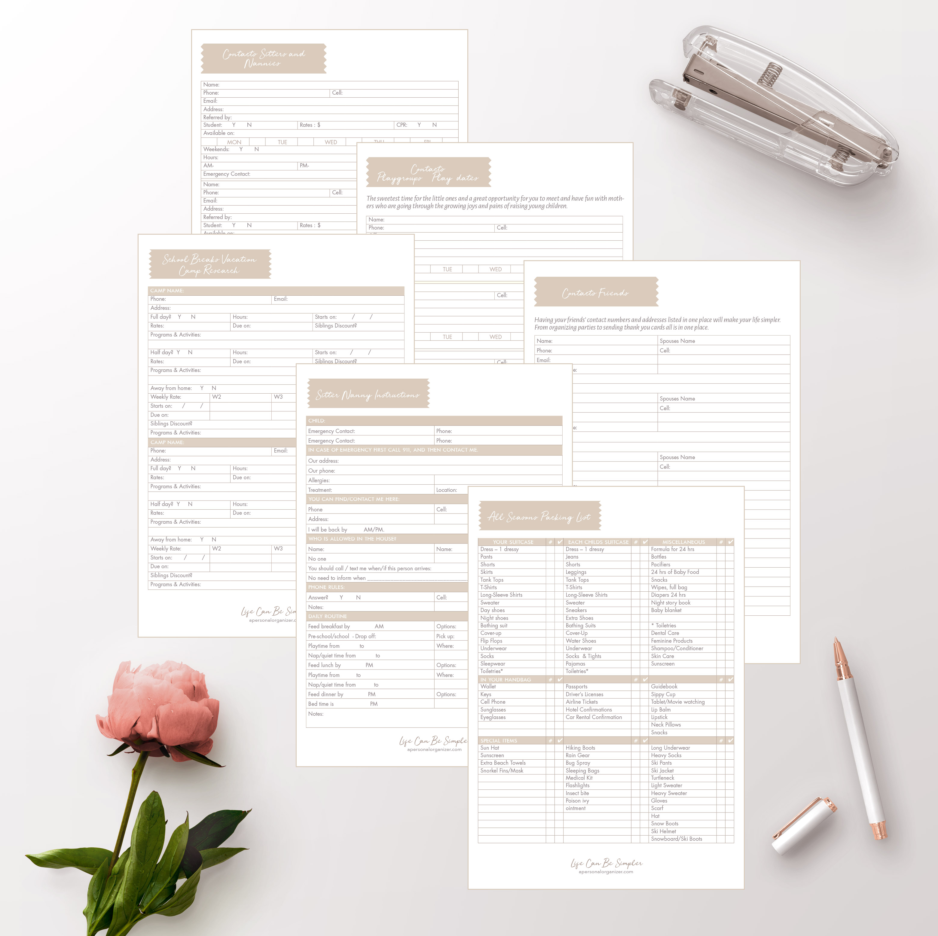 The Home Binder & Family Planner