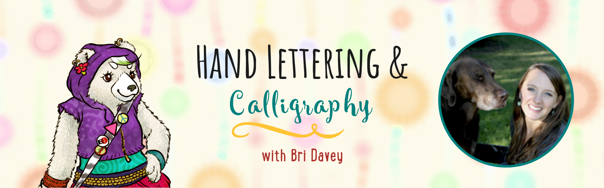 Hand Lettering and Calligraphy with Bri Davey at the Children's Book Academy