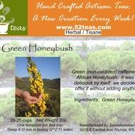 Green Honeybush from 52teas