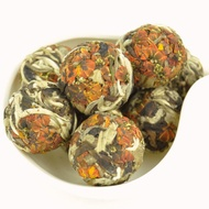 Moonlight White Tea and Snow Chrysanthemum Buds Dragon Ball from Yunnan Sourcing