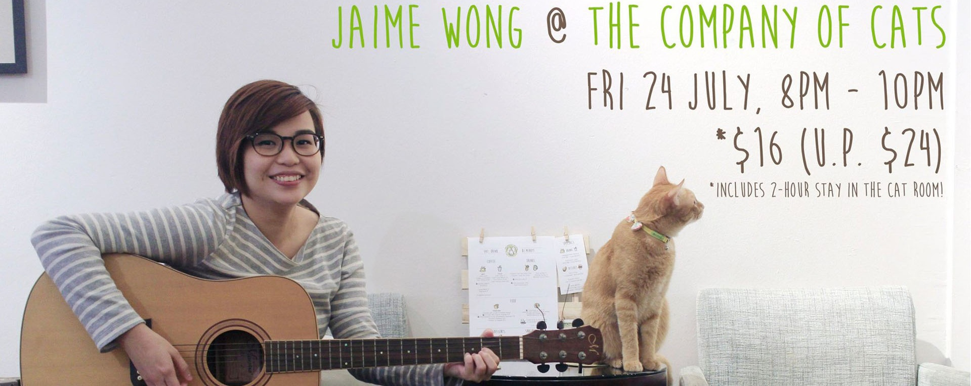 Jaime Wong @ The Company of Cats
