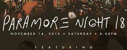 Paramore Night 18