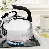 Classic 2-1/3 Quart Whistling Tea Kettle from Revere Ware
