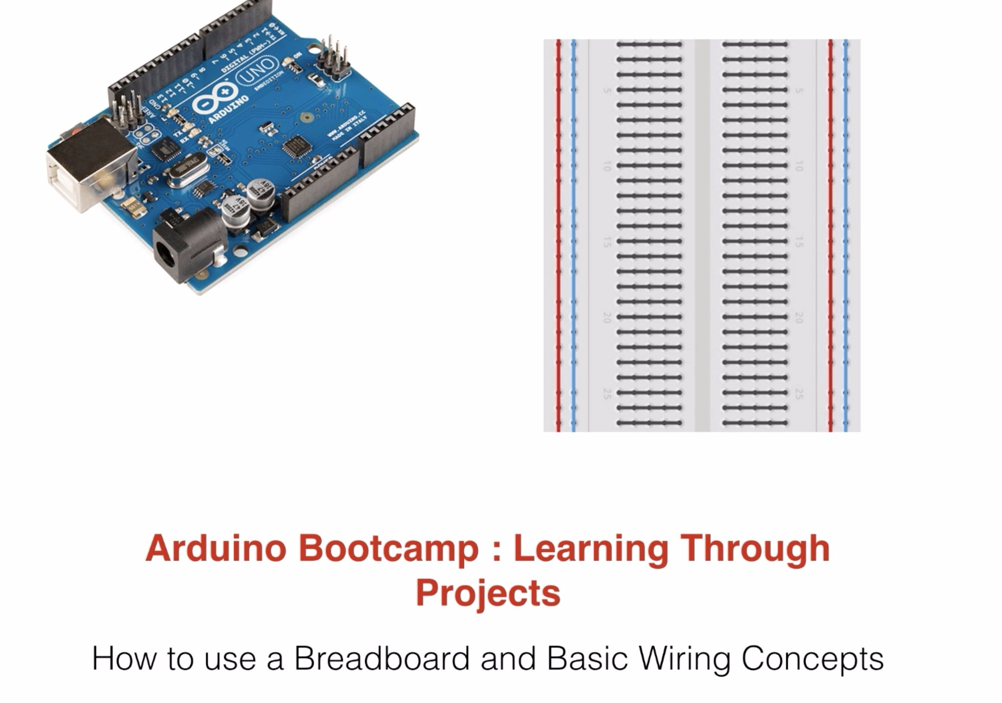 How To Use A Breadboard And Basic Wiring Concepts Stackskills Project 42 Breadboarded Circuit