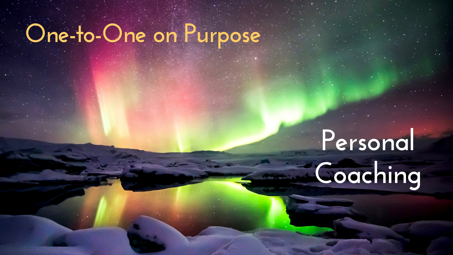 Personal Coaching – One-to-One on Purpose