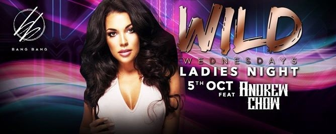 WILD Wednesdays feat Andrew Chow // 5th Oct