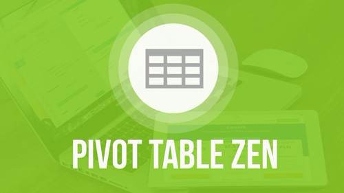 An Image of MS Excel Mini Course on Pivot Table Zen in Excel