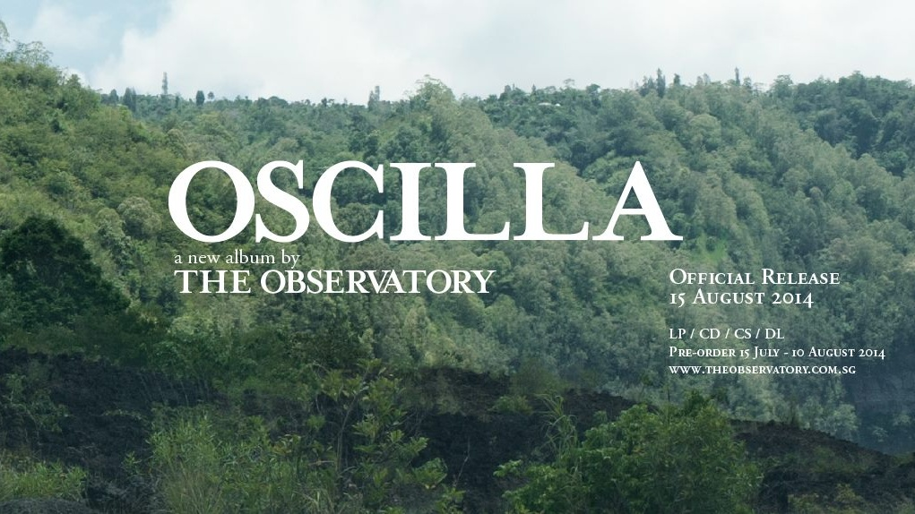 OSCILLA - Album Launch at The Substation