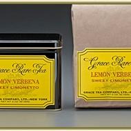 Lemon Verbena Sweet Limonetto from Grace Tea Company