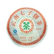 2007 8851 Kunming Tea Factory Raw Pu-erh Tea Cake from Yee On Tea Co.