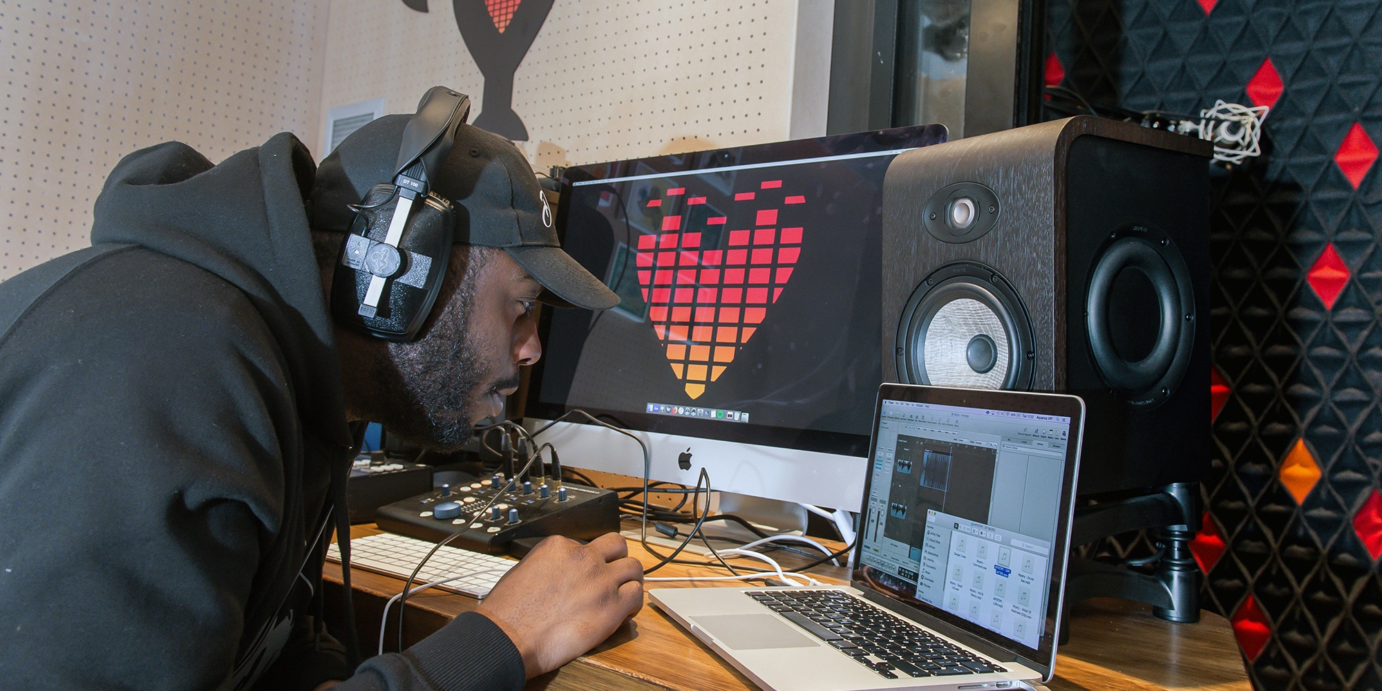 Nando's opens up recording studio in London restaurant