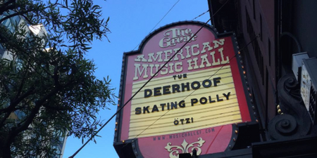 GIG REPORT: Deerhoof Live at the Great American Music Hall