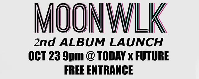 MOONWLK 2nd Album Launch!