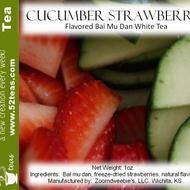 Cucumber Strawberry Bai Mu Dan from 52teas