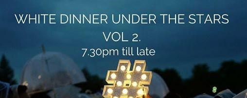 WHITE Dinner UNDER the STARS VOL 2. BY LAZY BEATz & HOTEL JEN OG