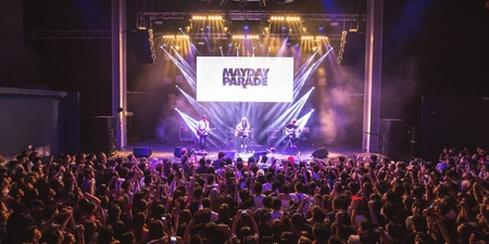 How a hurricane nearly derailed Mayday Parade's show in Singapore