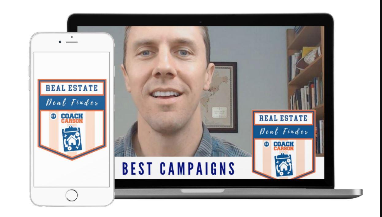Real Estate Deal Finder Coach Carson
