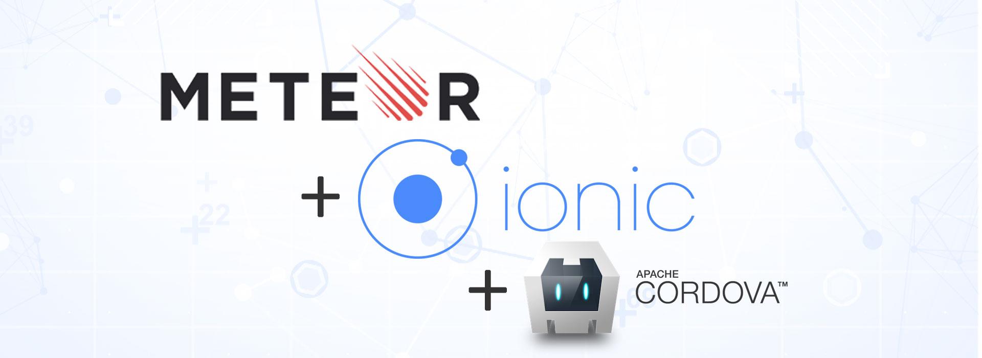 Build app using MeteorJS