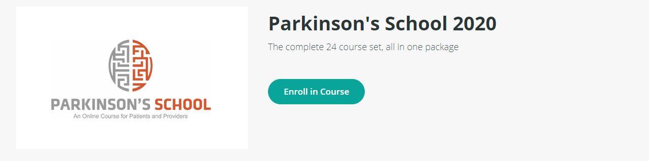 parkinsons school online class enrollment