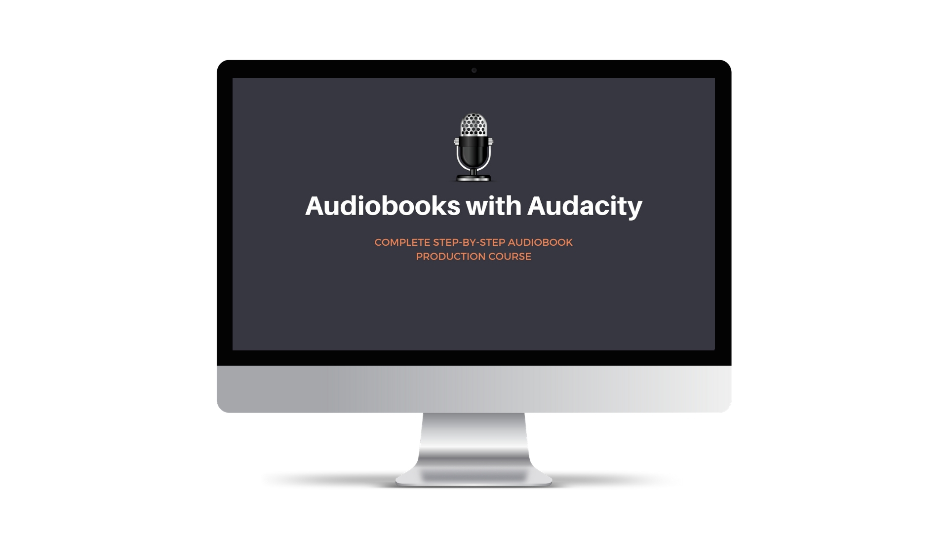 Audiobooks with Audacity Course | Audiobook Tutorials