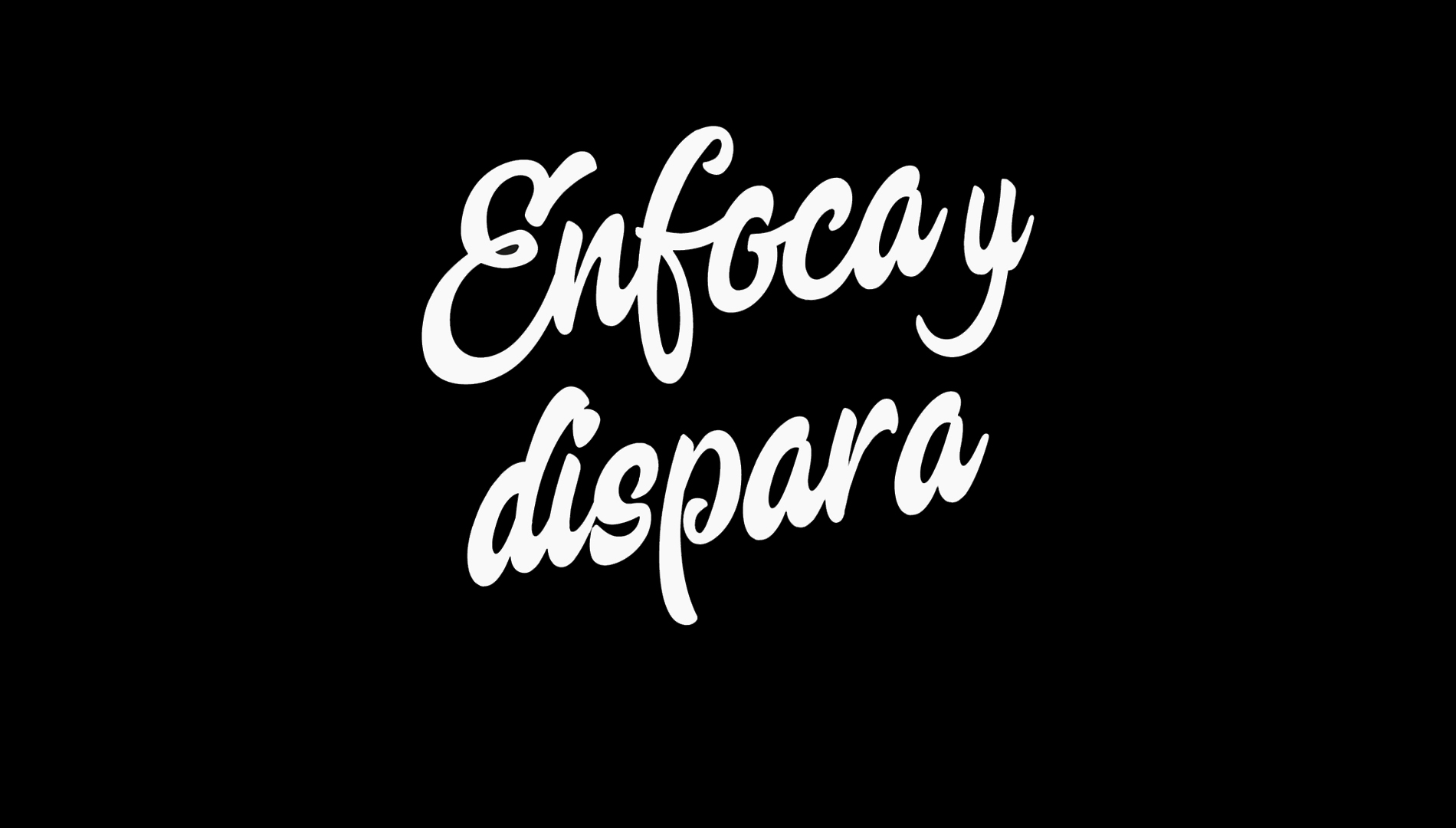 Enfoca y dispara