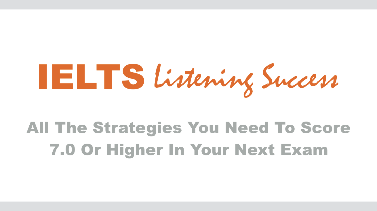 IELTS Listening Success