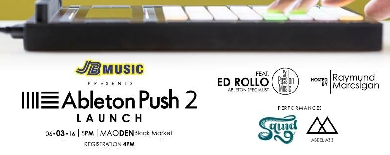 Ableton Push 2 Launch