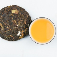 """Wild Monk"" Raw Pu'er-2014 from Mandala Tea"