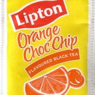 Orange Choc Chip Flavoured Black Tea from Lipton