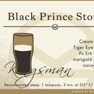 Black Prince Stout from Adagio Teas Custom Blends