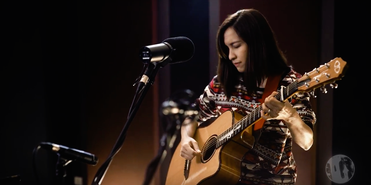 WATCH: Barbie Almalbis performs 'Tonight, Tonight' on Tower Unplugged's first episode