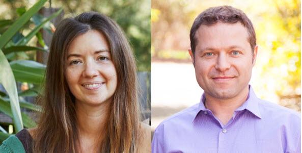 Christina Earthwater-Ricchi and Elan Freydenson