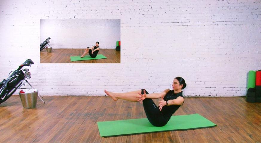 Yoga pour Golfeurs - 8 étapes - 4. Force