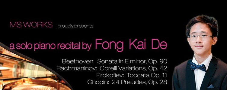 Fong Kai De - Solo Piano Recital