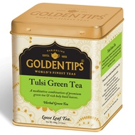Tulsi Green Full Leaf Tea Tin Can By Golden Tips Tea from Golden Tips Tea