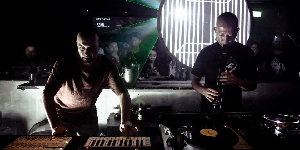 WATCH: KiNK teams up with KAYE for a spectacular live techno set at kyo