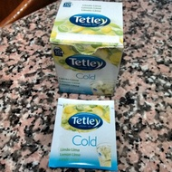 Cold lemon lime from Tetley