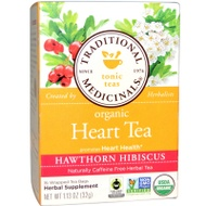 Hawthorn Hibiscus Heart Tea from Traditional Medicinals