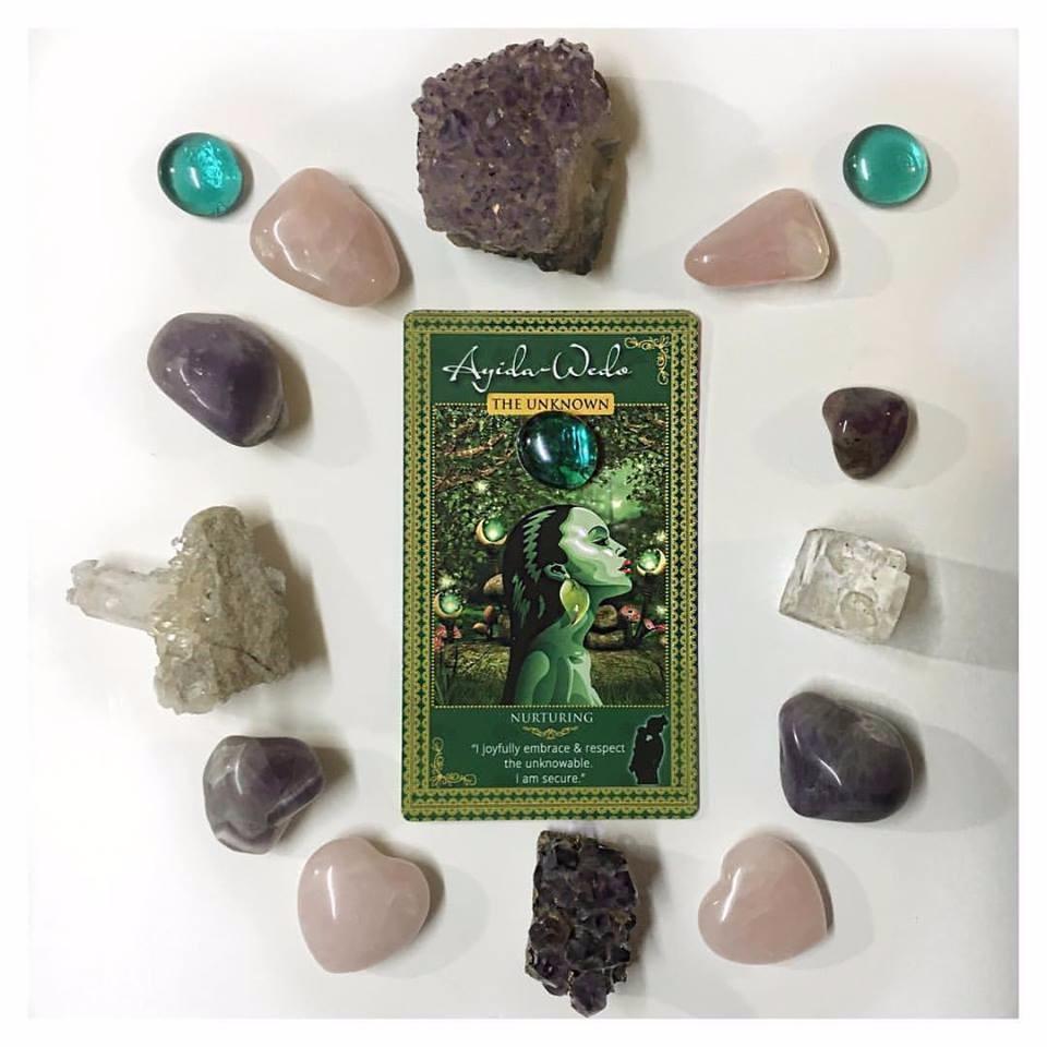 goddess affirmation cards