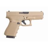 Glock Glock 19 Gen4 9mm Desert Sand Centerfire Pistol (Made in USA)