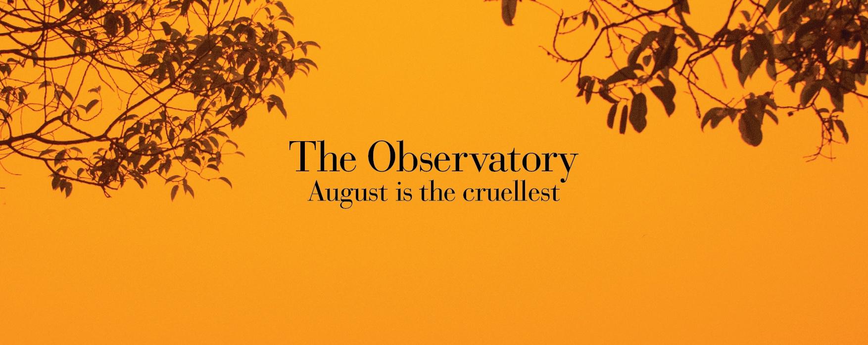 August is the cruellest - Album Launch
