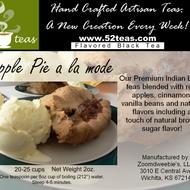 Apple Pie a la mode from 52teas