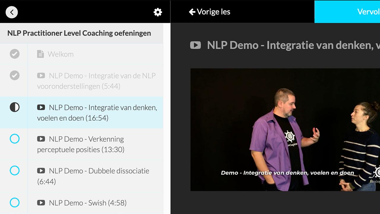 NLP Coaching Demo